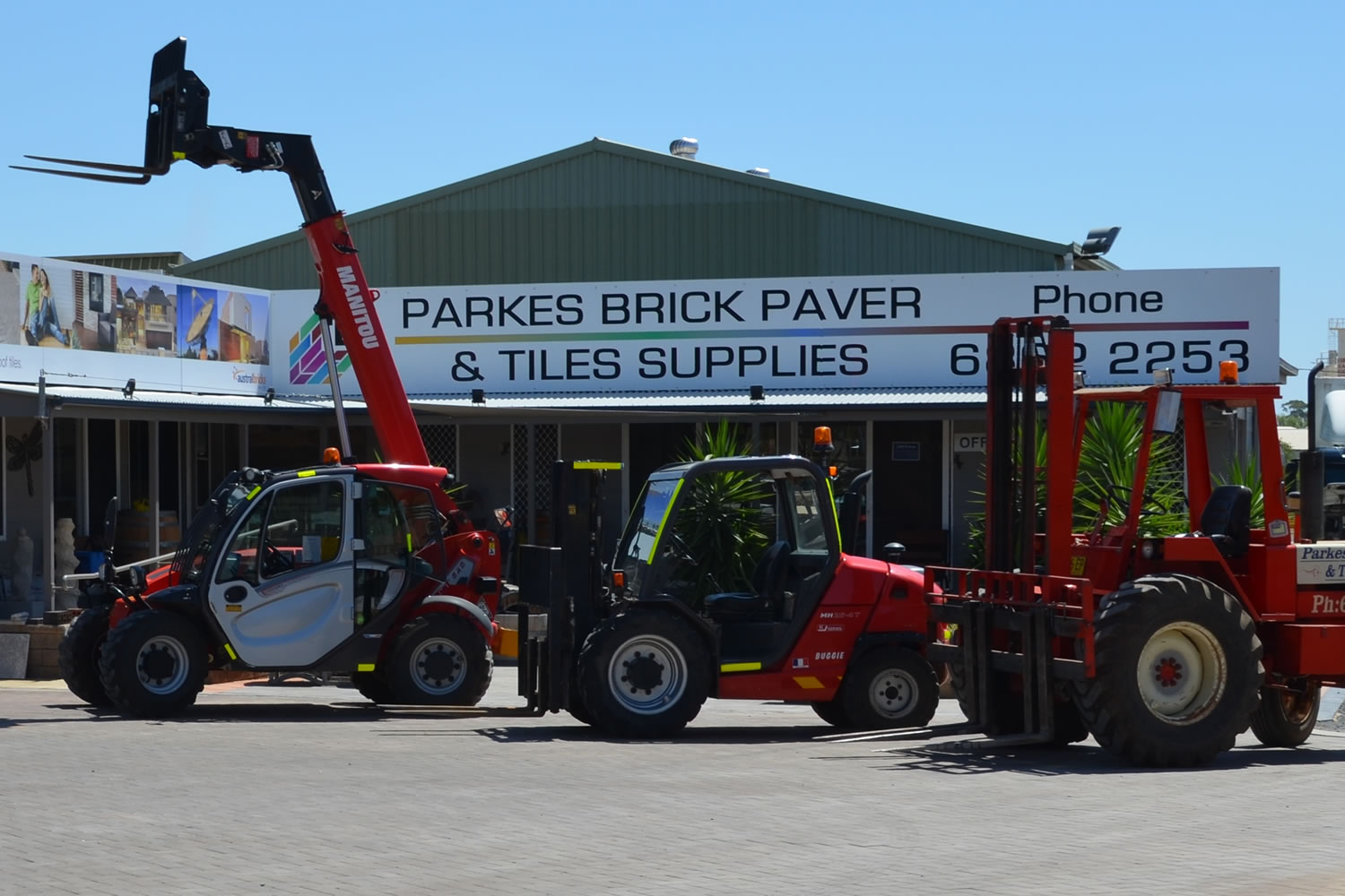 Potts Forklift Hire